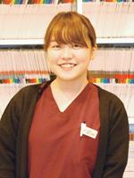 動物看護学科鎌田紗綾さん